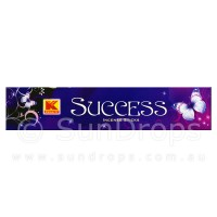 Kwality Incense Sticks - Success - 1 Packet / 20 Sticks