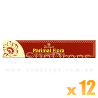 Parimal Incense Sticks - Parimal Flora - 17g x 12
