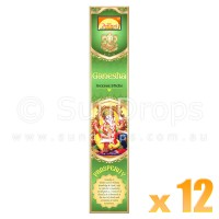 Parimal Incense Sticks - Ganesha Prosperity Incense - 17g x 12