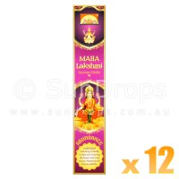 Parimal Incense Sticks - Maha Lakshmi Abundance Incense - 17g x 12