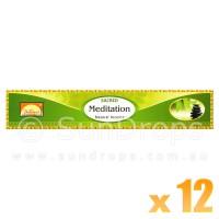 Parimal Incense Sticks - Sacred Meditation - 15g x 12