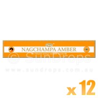 Ppure Incense Sticks - Amber - 15g x 12