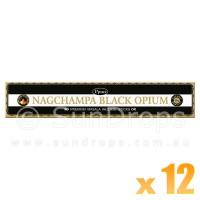 Ppure Incense Sticks - Black Opium - 15g x 12