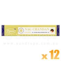 Ppure Incense Sticks - Chandan - 15g x 12