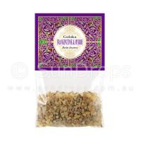 Goloka Incense Resin - Frankincense Myrrh - 30g