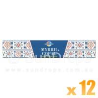Sacred Elements Incense Smudge Sticks - Myrrh & Copal - 15g x 12