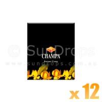 Sandesh Incense Cones - Champa - 12 Packets / 120 Cones