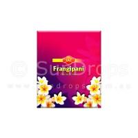 Sandesh Incense Cones - Frangipani - 1 Packet / 10 Cones