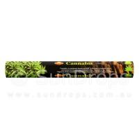 Sandesh Incense Sticks - Cannabis - 1 Packet / 20 Sticks