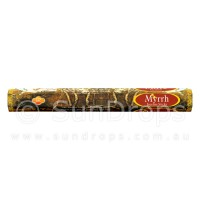 Sandesh Incense Sticks - Myrrh - 1 Packet / 20 Sticks