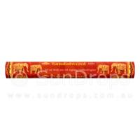 Sandesh Incense Sticks - Sandalwood - 1 Packet / 20 Sticks