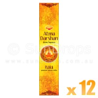 Sandesh Incense Sticks - Atma Darshan - 12 Packets / 180 Sticks