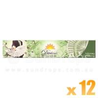 Sandesh Incense Sticks - Divine Natural Flora - Money Drawing - 15g x 12