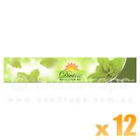 Sandesh Incense Sticks - Divine Natural Flora - Patchouli - 15g x 12