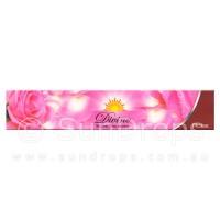 Sandesh Incense Sticks - Divine Natural Flora - Rose - 15g