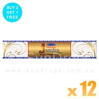Satya Gold Label Jasmine - 15g x 12
