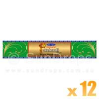 Satya Gold Label Patchouli - 15g x 12