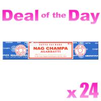 Satya Nag Champa Bulk Deal - 15g x 24