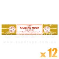 Satya Natural Series - Arabian Musk - 15g x 12