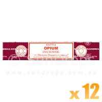 Satya Natural Series - Opium - 15g x 12