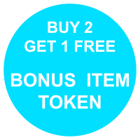 Bonus Item Token - Buy 2 Get 1 Free