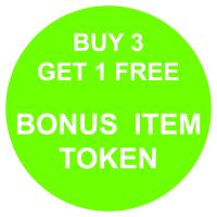 Bonus Item Token - Buy 3 Get 1 Free